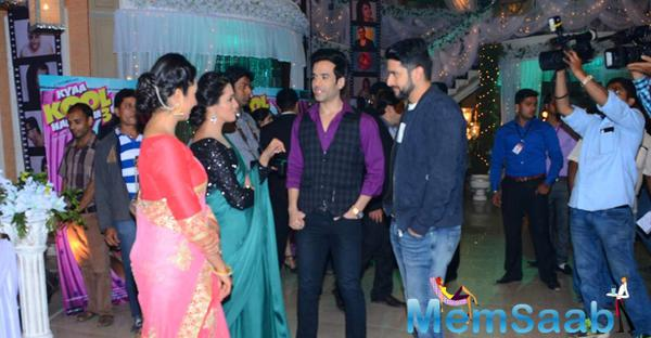 Kya Kool Hain Hum 3 Promote On The Sets Of Yeh Hai Mohabbatein