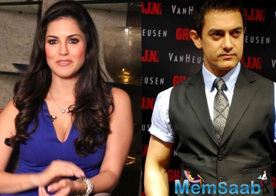 Why Aamir Khan say so happy to work with Sunny Leone