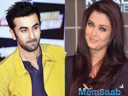 At an interview 33-year-old Ranbir confessed that 'of course Aishwarya and I Play each Other's Love interests in 'ADHM'