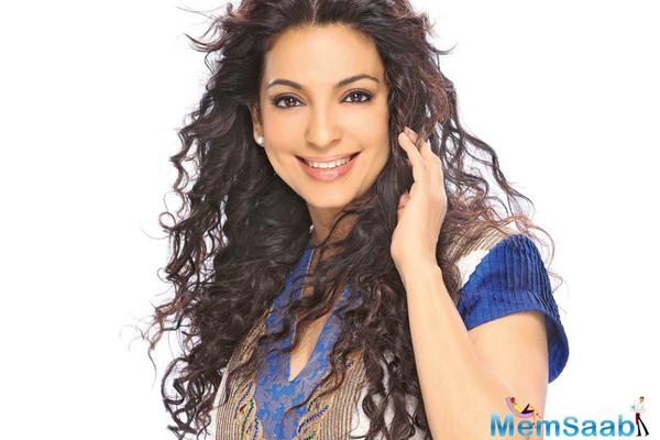 Juhi approached for Pushpaka Vimana