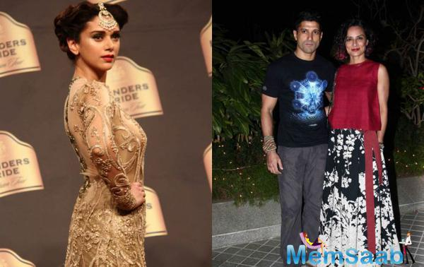 Has Aditi Rao Hydari become the member of Farhan's family?