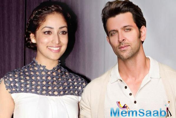 Yami Gautam said  I am very excited and am feeling great to get such a huge opportunity. I am really lucky to have been paired with Hrithik. I am also nervous to share screen space with him.