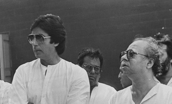 Amitabh Bachchan posts old pics with R D Burman