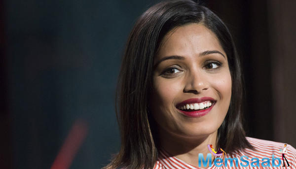 Freida Pinto revealed, she is playing Mowgli's adoptive mother in 'Jungle Book Origins'