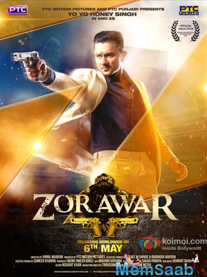 Convey a look: Yo Yo Honey Singh is back with his smashing movie debut  'Zorawar '