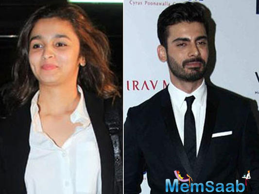 Alia Bhatt and her Kapoor and Sons co-star Fawad Khan were in the city to unveil a Filmfare magazine cover
