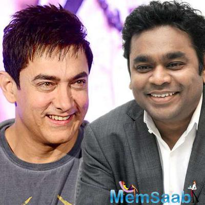 Aamir praises, A R Rahman launch his '99 Song'  first look poster