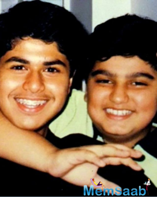 Sonam Kapoor posted this picture of cousin Arjun Kapoor with Kunal Rawal and wrote,
