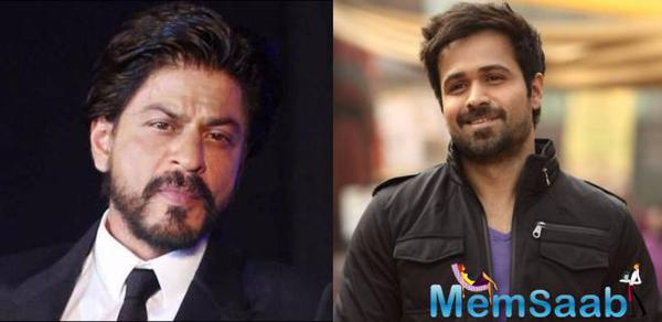 Shah Rukh promotes Emraan Hashmi's book on son's battle with cancer