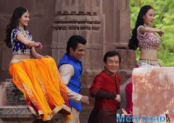 Farah Khan is choreographing Jackie Chan in Kung Fu Yoga