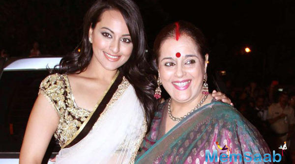 Sonakshi mother Poonam added, I remember Sonakshi walking the ramp  five to six years ago at the Fashion Week.