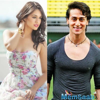 Tiger Shroff opens up about his girlfriend Disha Patani