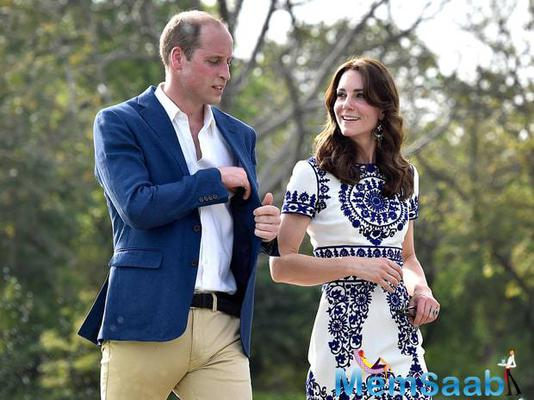 William and Kate visited the Taj Mahal ahead of their fifth wedding anniversary