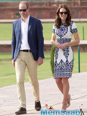 """While seeing the Taj Mahal, Kate Middleton got """"emotional"""", when she came to know that the Queen died at the very young age,"""