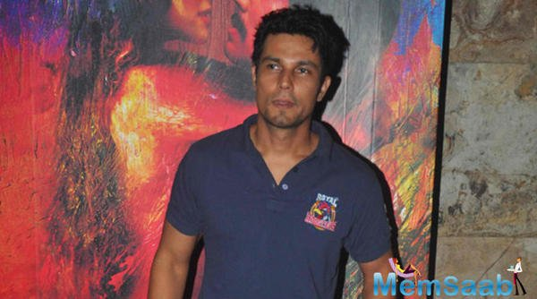 Randeep Hooda had been in acute pain for some time before  but he is known for his professionalism so he ignored it to complete the shoot on that time.