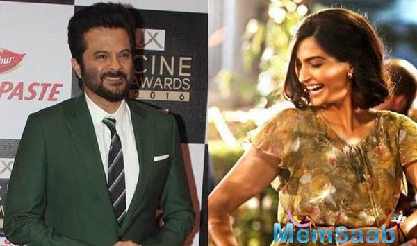 Recently Anil Kapoor was attending the announcement event of the 17th IIFA Awards, and he said Sonam Kapoor's portrayal of air hostess Neerja Bhanot in the biopic Neerja made him a proud father.
