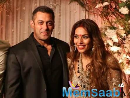 No Entry co-star, Salman Khan got special attention from the newly-weds Bipasha and Karan.