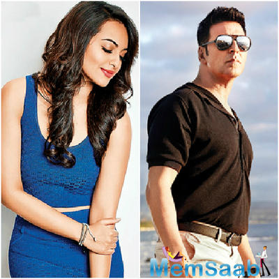 Sonakshi will be romancing with Akshay in Namastey England