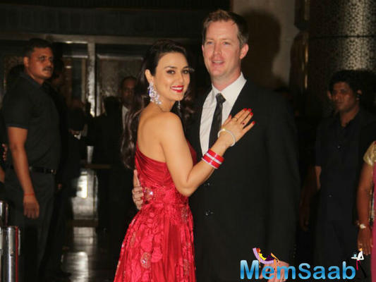 See pics: Preity Zinta hosted a reception in Mumbai on Friday