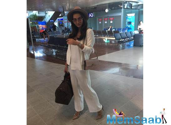 Amy Jackson's stylish look at the Cannes Film Festival