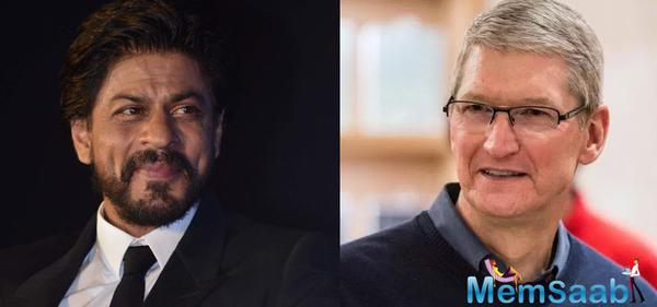 Shah Rukh to host Tim Cook at residence