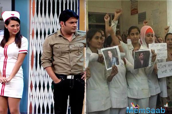 Nurses' Federation lodged a police complaint against Kapil Sharma