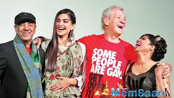 Sonam and Ian McKellen inaugurated the 7th edition of Kashish film festival