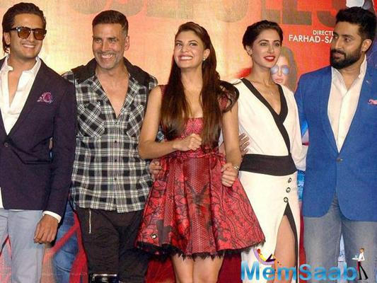 Houseful 3 is directed by Sajid-Farhad, and also stars Akshay Kumar, Riteish Deshmukh, Lisa Haydon and Jacqueline Fernandez and Nargis Fakhri and is slated to hit the theatres on June 3.