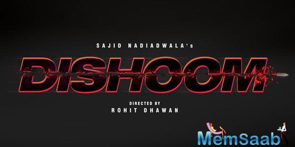 Varun Dhawan has shared Dishoom logo in the social media