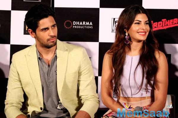 Sidharth and Jacqueline shoot song for their next action film