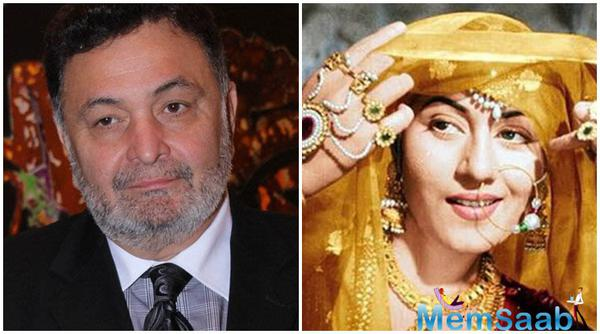 Rishi Kapoor: I always had a dream to romance Madhubala in a song