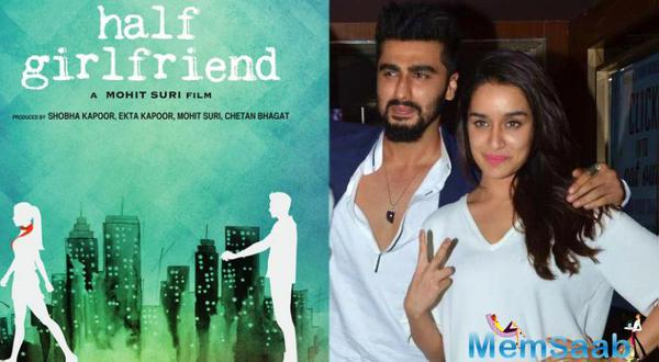 Mohit Suri Half Girlfriend story reveals a Bihari boy falling in love with a girl from upper-class society. The role of Bihari boy Madhav Jha will be played by Arjun and Riya Somani's character will be played by Shraddha