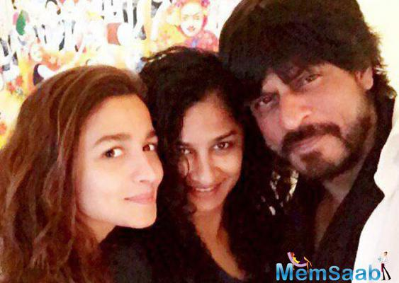 Alia and SRK starrer  Gauri Shinde directorial film titled 'Dear Zindagi'?