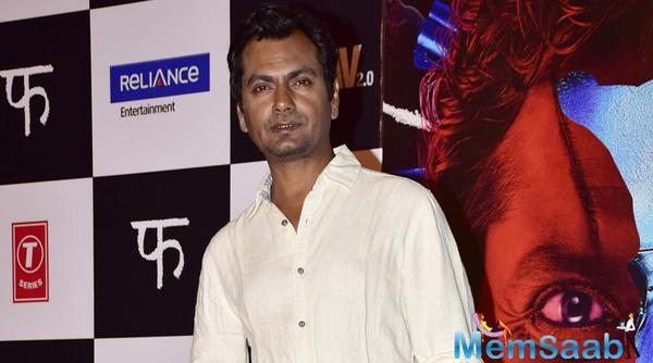 Nawazuddin: I feel fortunate that I am being offered all kinds of films