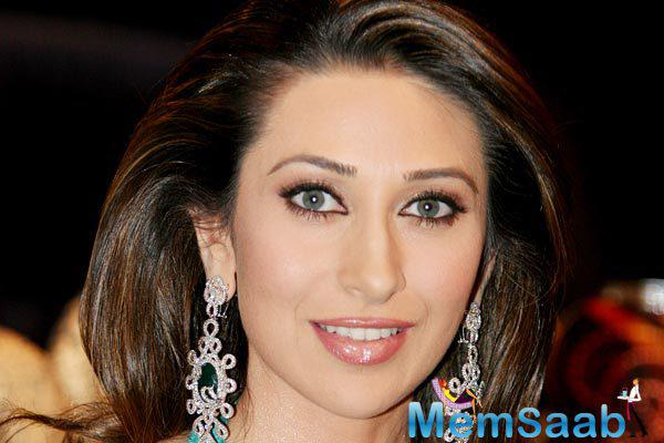 Karisma Kapoor returns onscreen with a different avatar