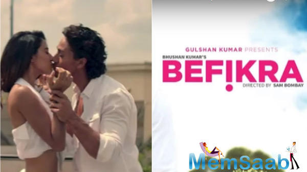 Tiger Shroff and rumoured girlfriend Disha Patani sizzling chemistry in Befikra song