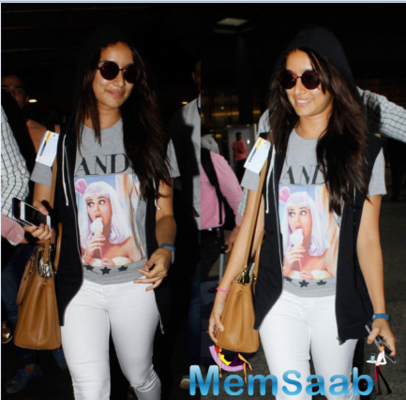 Shraddha Kapoor spotted at Mumbai airport
