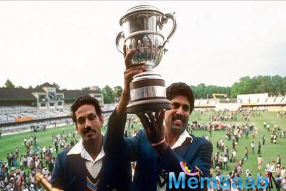 Now Bollywood to make a film based on team India's 1983 World Cup victory