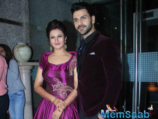 YHM team and others attended the Mumbai reception of Divyanka and Vivek