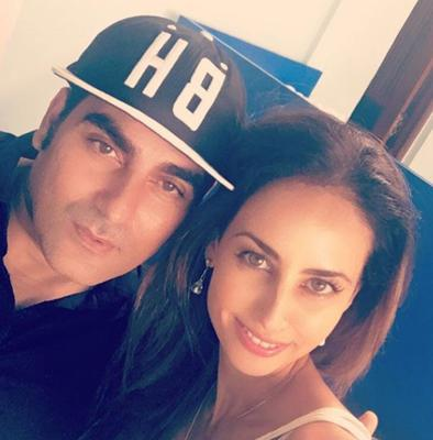 Arbaaz Khan spotted partying with a mystery girl in Goa