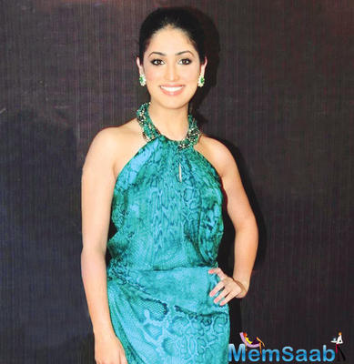 Actress Yami Gautam, who was last seen on screen in filmmaker Vivek Agnihotri's intense romantic love film