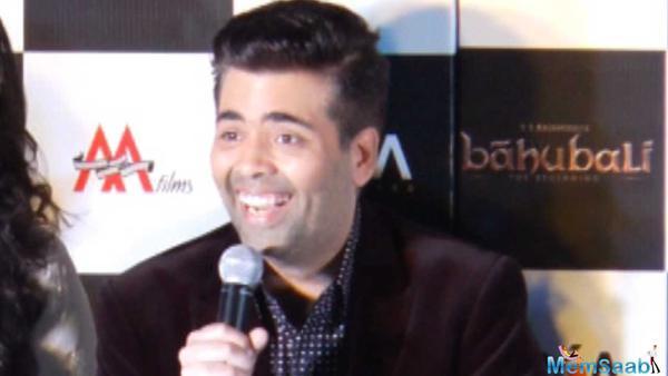 Karan Johar reveals the release date of Baahubali 2