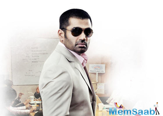 Suniel Shetty is back with a new flick 'Bang Bang'