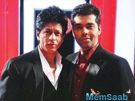 Karan discovers SRK to be most intelligent one in film industry