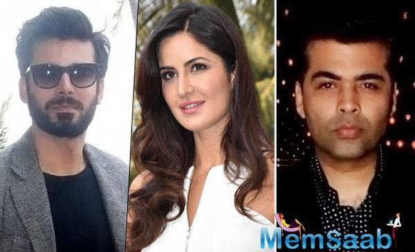 Katrina and Fawad to pair up for Karan Johar's next Raat Baaki?
