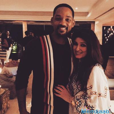 Will Smith attended the Akshay Kumar's Rustom party