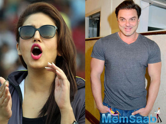 Sohail Khan and Huma Qureshi Affair: The actor rubbished the reports
