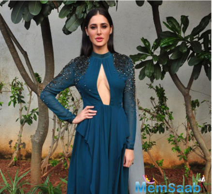 American model Nargis said that she learned a little bit of Marathi to get into the skin of her character.