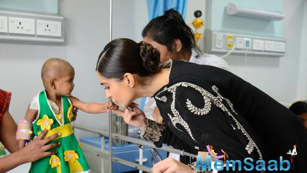 Sonam Kapoor pledges to look after 10 kids suffering from cancer at NGO