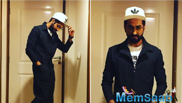 Revealed: Ayushmann new look for Bareilly Ki Barfi